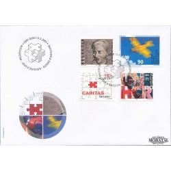 2000 - Switzerland  Sc# 1093/1094, 1096/1097  F.D.C.  Nice. Anniversaries and Events (Scott)