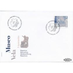 2001 - Switzerland  Sc# 1098  F.D.C.  Nice. Vela Museum (Scott)