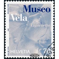 2001 - Switzerland  Sc# 1098  © Used, Nice. Vela Museum (Scott)