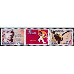 2004 Espagne 3660/3661  Musique  **MNH TTB Très Beau  (Yvert&Tellier)