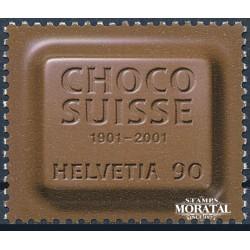 2001 - Switzerland  Sc# 1100  ** MNH Very Nice. Choco Suisse (Scott)