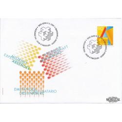 2001 - Switzerland  Sc# 1102  F.D.C.  Nice. Definiive Stamp (Scott)