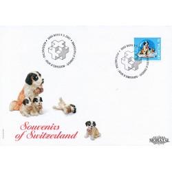 2001 - Switzerland  Sc# 1101  F.D.C.  Nice. Swiss Souvenirs (Scott)