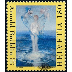 2001 - Switzerland  Sc# 1106  ** MNH Very Nice. The Birth of Venus (Scott)