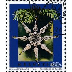 2001 - Switzerland  Sc# 1111  © Used, Nice. Christmas (Scott)
