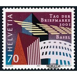 2001 - Switzerland  Sc# 1110  ** MNH Very Nice. Stamp Day (Scott)