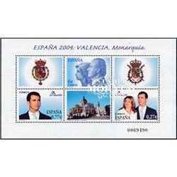 2004 España 4083/4084 Boda Felipe-Letizia. 4 idiomas    (Edifil)