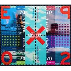 2002 - Switzerland  Sc# 1115  ** MNH Very Nice. Expo 02 (Scott)