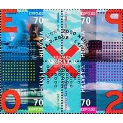 2002 - Switzerland  Sc# 1115  © Used, Nice. Expo 02 (Scott)