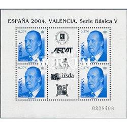 2004 Spanien Block140 Grundlegende Block. Juan Carlos ich  ** Perfekter Zustand  (Michel)
