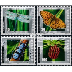 2002 - Switzerland  Sc# 1126/1129  ** MNH Very Nice. Insects (Scott)