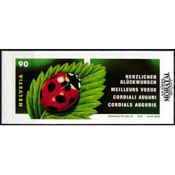 2002 - Switzerland  Sc# 1125  ** MNH Very Nice. Ladybug (Scott)