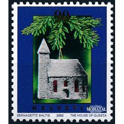 2002 - Switzerland  Sc# 1137  ** MNH Very Nice. Christmas (Scott)