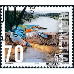 2002 - Switzerland  Sc# 1133  © Used, Nice. Stamp Day (Scott)