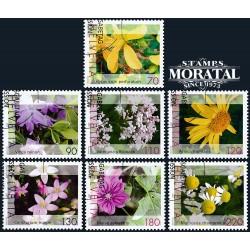 2003 - Switzerland  Sc# 1142/1148  © Used, Nice. Medicinal Plants (Scott)