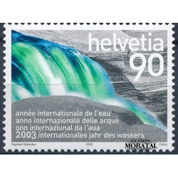 2003 - Switzerland  Sc# 1141  ** MNH Very Nice. Intl. Year of Water (Scott)