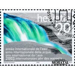 2003 - Switzerland  Sc# 1141  © Used, Nice. Intl. Year of Water (Scott)