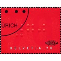 2003 - Switzerland  Sc# 1138  © Used, Nice. Swiss Association Blind (Scott)