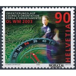 2003 - Switzerland  Sc# 1140  ** MNH Very Nice. World Orienteerin Championiships (Scott)