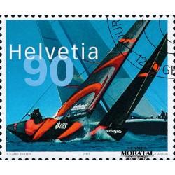 2003 - Switzerland  Sc# 1153  © Used, Nice. America's Cup (Scott)