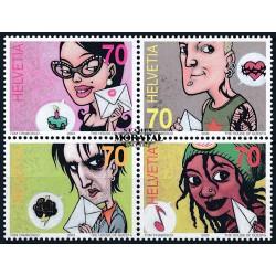 2003 - Switzerland  Sc# 1150  ** MNH Very Nice. Comic Strip Art (Scott)