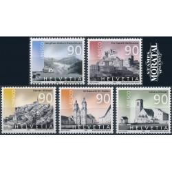 2003 - Switzerland  Sc# 1158/1162  ** MNH Very Nice. UNESCO World (Scott)