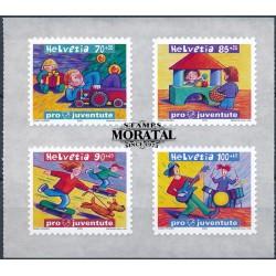 2003 - Switzerland  Sc# B677/B680  ** MNH Very Nice. Pro Juventute 03 (Scott)
