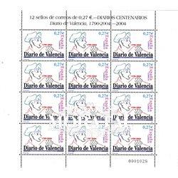 2004 Spanien 3968 Zd-Bogen MP-Journal von Valencia  ** Perfekter Zustand  (Michel)