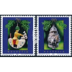 2003 - Switzerland  Sc# 1165/1166  ** MNH Very Nice. Christmas (Scott)