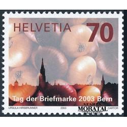 2003 - Switzerland  Sc# 1163  ** MNH Very Nice. Stamp Day (Scott)