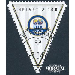 2004 - Switzerland  Sc# 1172  © Used, Nice. FIFA Cent. (Scott)