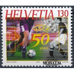 2004 - Switzerland  Sc# 1173  ** MNH Very Nice. UEFA 50th Anniv. (Scott)