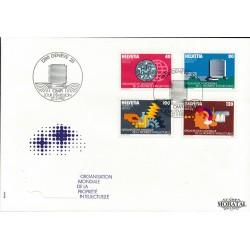 1982 Switzerland Sc 0 O.M.P.I.  FDC Nice  (Scott)