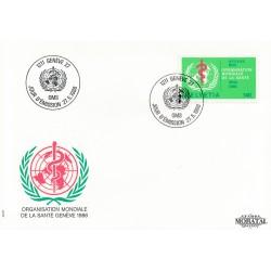 1986 Switzerland Sc 0 O.M.S.  FDC Nice  (Scott)