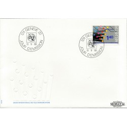 1988 Switzerland Sc 0 U.I.T.  FDC Nice  (Scott)