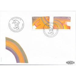 1999 Switzerland Sc 0 U.P.U.  FDC Nice  (Scott)