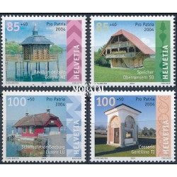 2004 Switzerland Sc B681/B684 Pro Patria 04  **MNH Very Nice, Mint Never Hinged?  (Scott)