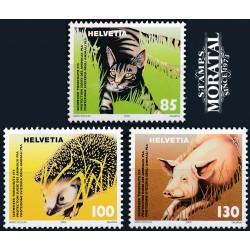 2004 Switzerland Sc 1191/1193 Animal Protection  **MNH Very Nice, Mint Never Hinged?  (Scott)