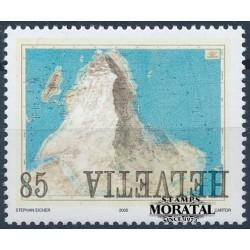 2005 Switzerland Sc 1200 Matterhorn Superimposed  **MNH Very Nice, Mint Never Hinged?  (Scott)