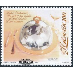 2005 Switzerland Sc 1207 Europa 05  **MNH Very Nice, Mint Never Hinged?  (Scott)