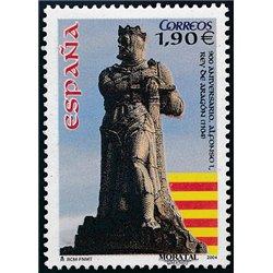 2004 Espagne 3706 Alphonse Ier, roi d'Aragon  **MNH TTB Très Beau  (Yvert&Tellier)