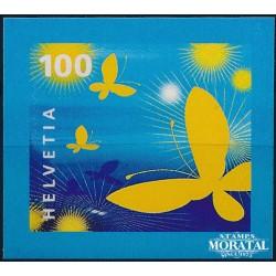 2005 Switzerland Sc 1210 Stylized Butterflies  **MNH Very Nice, Mint Never Hinged?  (Scott)