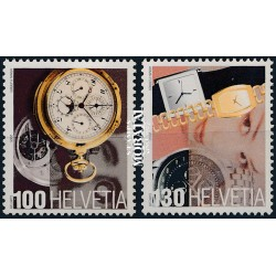 2005 Switzerland Sc 1215/1216 Swiss Timepieces  **MNH Very Nice, Mint Never Hinged?  (Scott)
