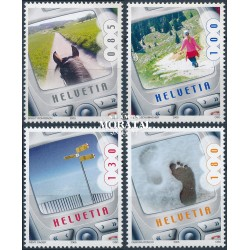 2005 Switzerland Sc 1217/1220 Cell Phone Pictures  **MNH Very Nice, Mint Never Hinged?  (Scott)