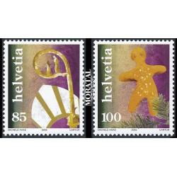2005 Switzerland Sc 1226/1227 Chistmas  **MNH Very Nice, Mint Never Hinged?  (Scott)