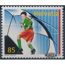 2006 Switzerland Sc 1229 Youth Soccer  **MNH Very Nice, Mint Never Hinged?  (Scott)