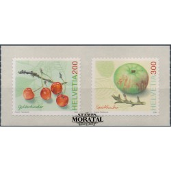 2006 Switzerland Sc 1250/1251 Fruit  **MNH Very Nice, Mint Never Hinged?  (Scott)