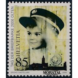 2006 Switzerland Sc 1253 Stamp Day  **MNH Very Nice, Mint Never Hinged?  (Scott)