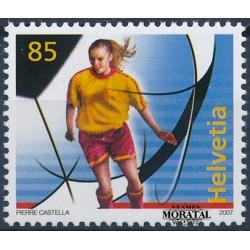 2007 Switzerland Sc 1256 Women's Soccer  **MNH Very Nice, Mint Never Hinged?  (Scott)