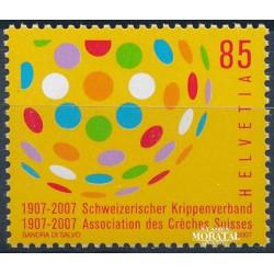 2007 Switzerland Sc 1267 Swiss Asoc. Day Care Centers, Cent.  **MNH Very Nice, Mint Never Hinged?  (Scott)